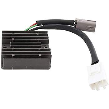 New DB Electrical 240-58018 Voltage Regulator Rectifier for 290cc 12V Kawasaki KLF300 Bayou 300 4x4 1989 1990 1991 1992 1993 1994 1995 1996 1997 1998 1999 2000 2001 2002 2003 2004 2005 27010-1098