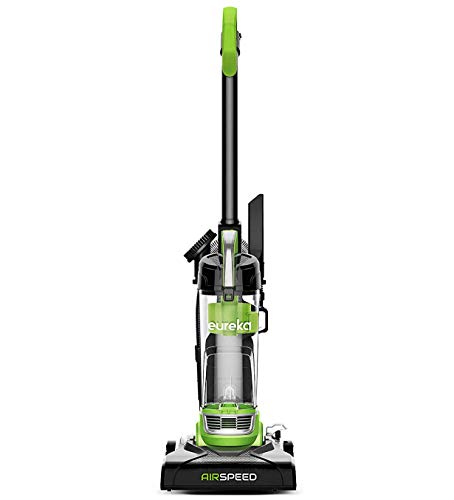 Eureka NEU100 Airspeed Ultra-Lightweight Compact Bagless Upright Vacuum Cleaner, Lime Green (Renewed)