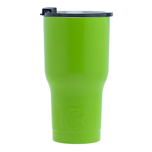RTIC Tumbler, 20 oz, Lime, Insulated Travel