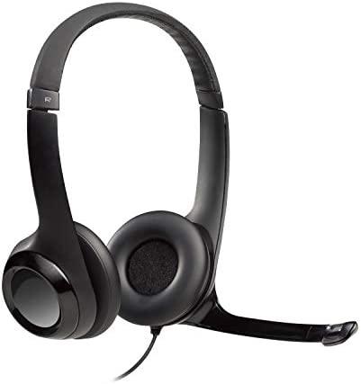 Logitech 993-000814 Auricular//aud/ífono Accesorio Logitech, H570e // H650e // H820e, Negro Accesorio para Auriculares