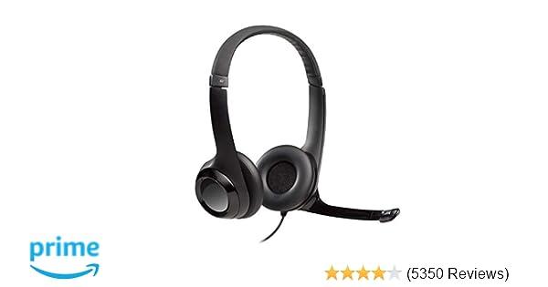 1b119232d14 Amazon.com: Logitech USB Headset H390 with Noise Cancelling Mic: Electronics