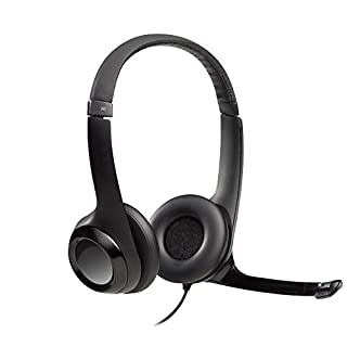 Logitech H390 Wired ClearChat Comfort USB Headset, Black (981-000014) (B000UXZQ42) | Amazon price tracker / tracking, Amazon price history charts, Amazon price watches, Amazon price drop alerts