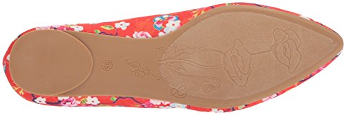 Penny Loves Kenny Womens Aaron Sf Balletto Piatto Rosso Floreale
