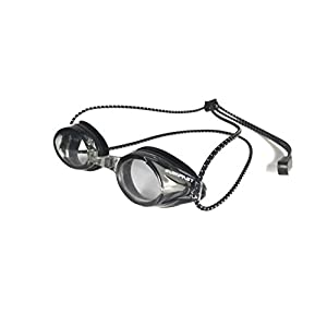 Resurge Sports Anti Fog Racing Swimming Goggles with Quick Adjust Bungee Strap