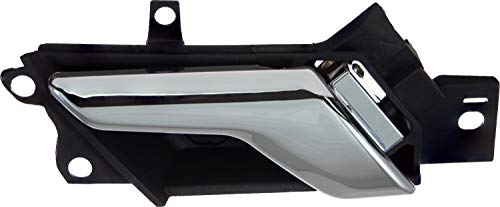 APDTY 93766 Interior Door Handle Fits Driver-Side Left Front or Rear Compatible With 2012-2015 Chevrolet Captiva Sport or 2008-2010 Saturn Vue (Replaces 96861998, 96660863, 20983660, 20983673)