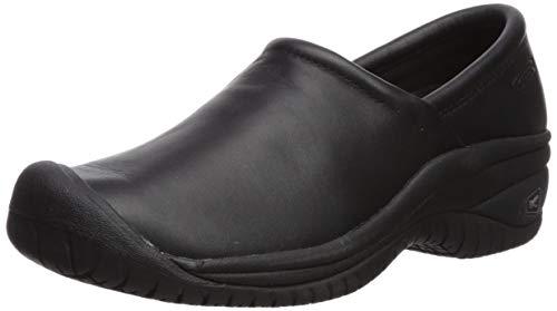 Friendly Easy Street Women's Black Comfort Clogs Slip On Shoes Women's Shoes
