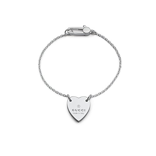 Gucci Trademark Silver Collection Bracelet 18Cm Yba223513001018