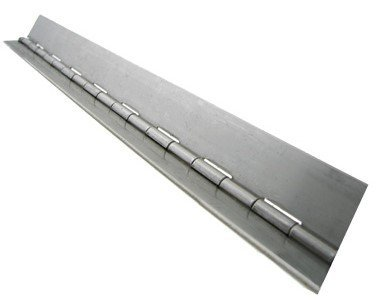 "RMP Cold Roll Continuous Hinge, 1 1/4"" x .035"" x 24"" Length"