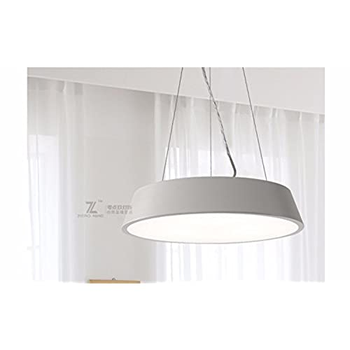 Simple Lampe Léger Bar Chaud Salon Lustre Led Ronde Restaurant OyvmwN8n0
