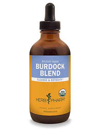 Herb Pharm Burdock Blend Liquid Extract to Support Cleansing & Detoxifying - 4 ()
