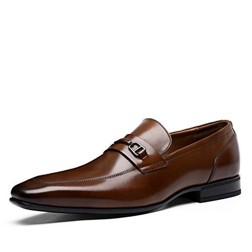 Vestido Trabajo MXNET Zapatos Brown Brown Cuero Size Cuero EU Zapatos Oxford Four de 42 Individuales First de Zapatos Negocios Cuero Color Casual Layer Hombres Seasons de para O6rBOdqx