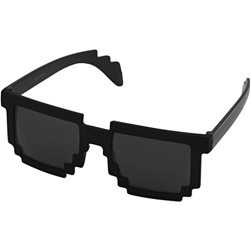 sol Bullet Gafas Negro modelo Negro Pixel de Brillante EEFqAwac