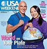 """USA Weekend Magazine (Novemeber 26-28, 2010 - Cover: """"The World on Your Plate"""")"""