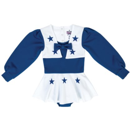 Dallas Cowboys NFL Girls DCC Cheer Set, Roy/WHT, X-Large -