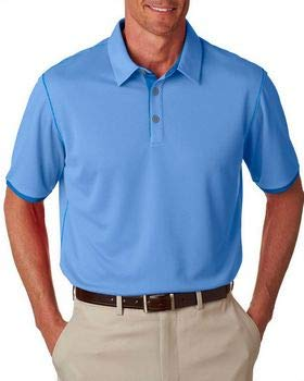 adidas Golf Mens Climacool Mesh Color Hit Polo (A221) -LKY Blue/B -3XL