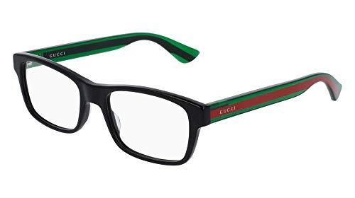 Gucci GG0006O Optical Frame 002 Black Green Transparent 53 -