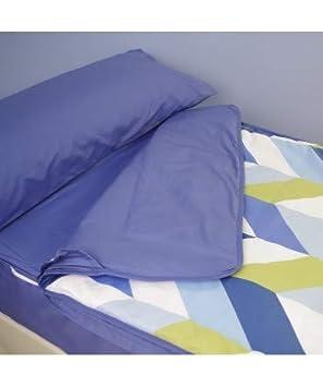 10XDIEZ Saco NORDICO Ajustable KUBU Azul - Medidas Sacos Nórdicos Infantiles - Cama 90cm: Amazon.es: Hogar