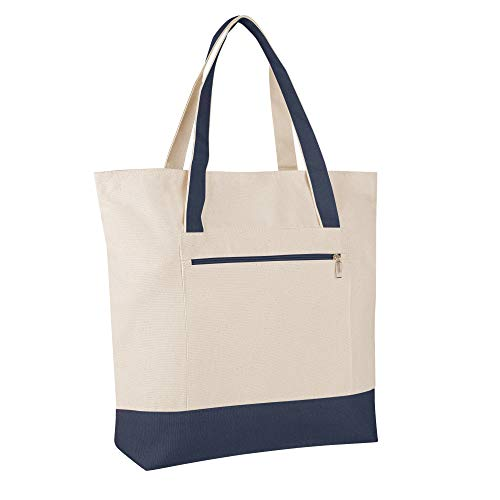 Pack of 12 - Heavy Duty Canvas Tote