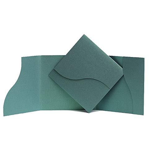 Smeraldo verde biglietti d invito 144/mm x 144/mm da biglietti d invito Ltd Green