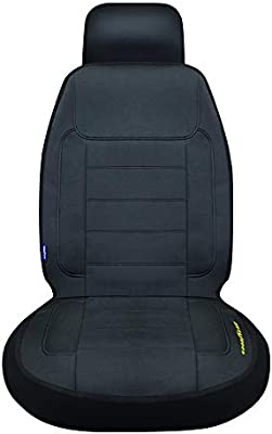 """Goodyear GY1247 Waterproof NEOPRENE Car Seat Cover Separate Headrest 10/""""H x 11/""""W 46/""""H x 18/""""W Side Airbag Compatible Fits Most Vehicles"""