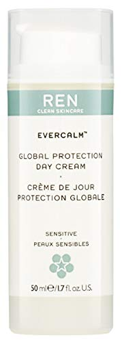 (REN Clean Skincare Global Protection Day Cream, 1.7 Fluid Ounce)