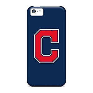 New Fashion Premium Tpu Case Cover For Iphone 5c - Baseball Cleveland Indians 2