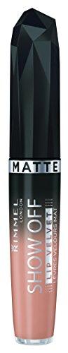 Rimmel Apocalips Matte Lipstick Velvet, Apollo, 0.18 Fluid Ounce Apollo Matte