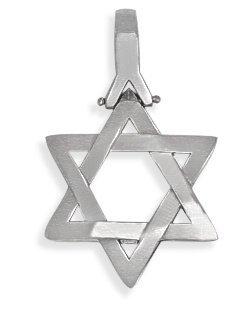 Domed Star Of David Pendant - 3