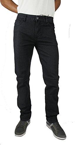 con Pantalón negro T vaquero FIT T hombre REGULAR elastano amp;K amp;K wtRFa1RqH