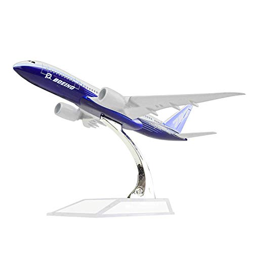Diecast Airplne 1:400 Boeing 787 Metal 6.3inches(16cm) Plane Model Office Decoration or Gift by LESES