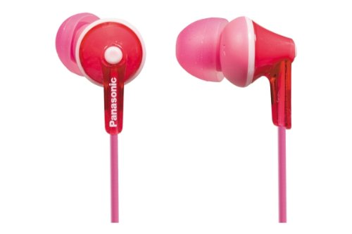Panasonic Wired Earphones - Wired , Pink (RP-HJE125-P)