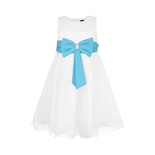 a Vestido os honor para fiesta bodas de 13 de turquesa de 2 Ael de os Tama o vestido a Marfil dama 4p7w4AqTn
