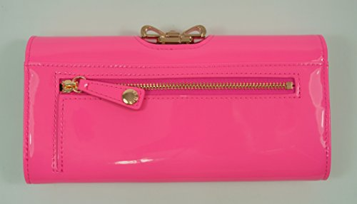 Crystal Matinee Baker Purse Ted Patent Lindar Pink Bow Mid Fnpwwg7Sq