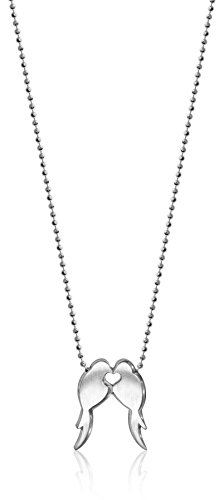 Alex Woo Little Animals Sterling Silver Love Birds Pendant Necklace