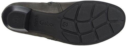 Gabor Dames Basic Laarzen, Rood Grijs (19 Antraciet)