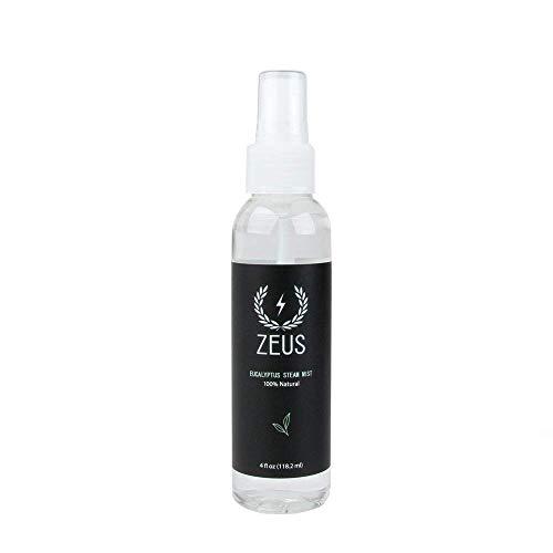 ZEUS 100% Natural Eucalyptus Steam and Towel Mist, 4 Fluid Ounce
