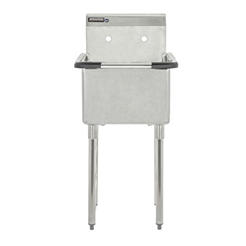 Apex Durasteel 1 Compartment Stainless Steel Commercial