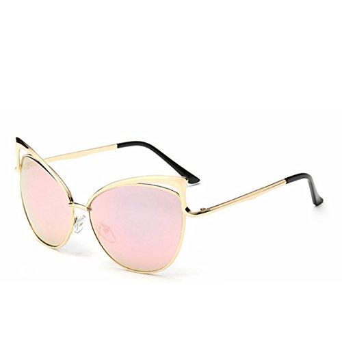 La Mode TLMY Femmes Lunettes de Soleil des Pink Européenne Lunettes Américaine qHPC5FCd
