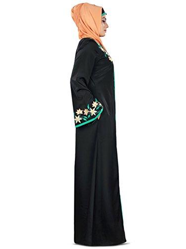 Frauen offen Abaya MyBatua vorne Online Graceful vOwOxf