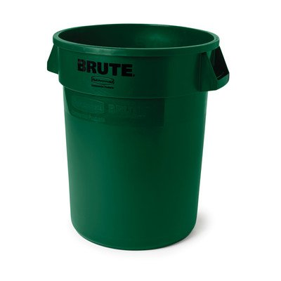 - BRUTE® 32-Gal Round Containers [Set of 24] Color: Dark Green