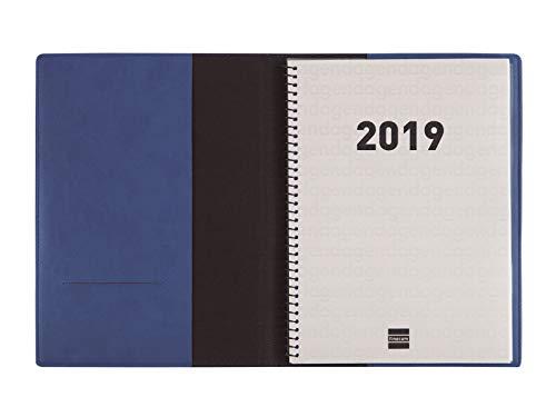 Agenda y bloc de notas 2019 día página catalán