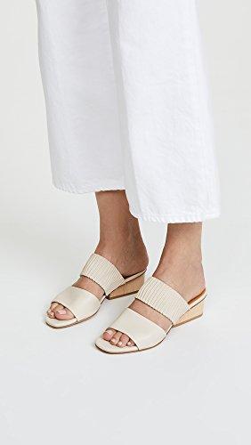 Coclico Shoes Womens Ooh LA LA Block Heel Mules Natural e2m630