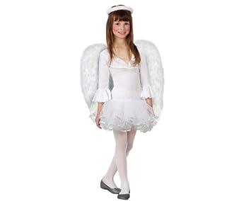 Atosa - Disfraz de ángel para niña, talla 10-12 años (8422259172727)