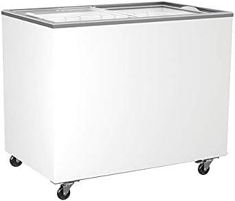 congelador con tapa de cristal 314 litros congelador congelador ...