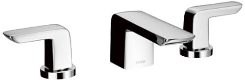 Toto TL960DDLQ#CP Soirée 1.5 GPM Widespread Lavatory Faucet, Polished Chrome