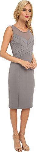Jessica Simpson Women's Sleeveless Paneled Sheath Dress,Storm Front,12