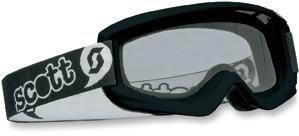 (Youth Agent Goggles, Manufacturer: Scott USA, AGENT MINI BLK )