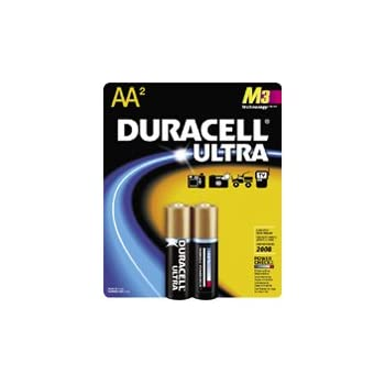 Amazon Com Duracell Aa2 Ultra M3 Technology Aa Alkaline