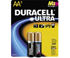 DURACELL AA2 ULTRA M3 Technology AA Alkaline Battery for High-Tech Devices