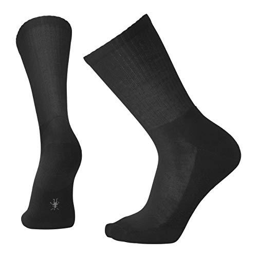 SmartWool Men's Heathered Rib Socks,Black,L